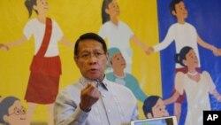 Wasiirka caafimaadka Philippines Dr. Francisco Duque.