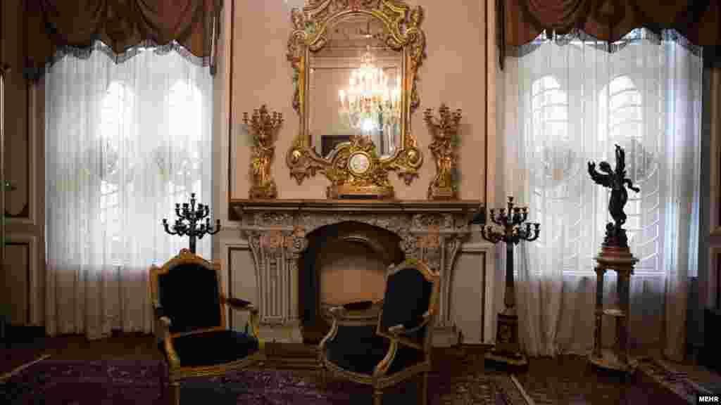 عکسی از نمای داخل کاخ مرمر رامسر. عکس امیرعلی رزاقی