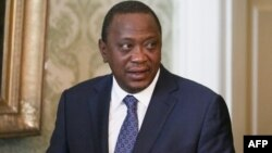 Le président du Kenya Uhuru Kenyatta à Londres, le 17 avril 2018.