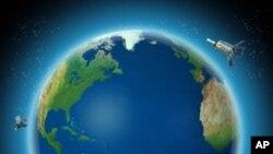 چین کا خلائی سیارہ مدار میں