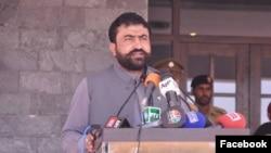 بلوچستان کے صوبائی وزیر داخلہ سرفراز بگٹی (فائل فوٹو)