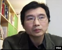 旅居德国的华裔资深媒体人长平接受美国之音采访(2016年3月28日)