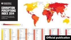 Phúc trình thường niên 2014 của tổ chức Minh bạch Quốc tế