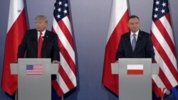 川普波兰回应通俄门