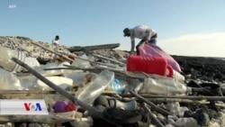 ساڵانە ملیۆنان تۆن پلاستیک فڕێدەدرێنە نێو ئۆقیانوسەکانی جیهانەوە