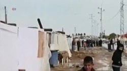 冬季风暴提前到来 叙利亚难民处境恶劣