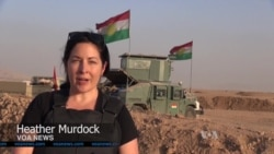 Peshmerga Forces Surround Islamic State Village in Iraqi Kurdistan