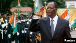 FILE - One human rights official says indictments of armed forces personnel for crimes allegedly committed during a civil war are a sign that Ivory Coast President Alassane Ouattara is keeping his promise not to spare any wrongdoers.