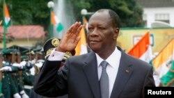 Alassane Ouattara, le président ivoirien