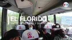 El Florido caravana de migrantes retorno