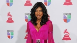 Natalie Cole arrives at the 13th Annual Latin Grammy Awards at Mandalay Bay on Nov. 15, 2012, in Las Vegas.