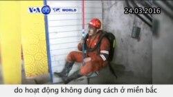 Tai nạn mỏ than ở Trung Quốc, 19 người thiệt mạng (VOA60)