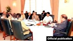 قومی سلامتی کمیٹی کے اجلاس کی وزیراعظم نواز شریف کی صدارت کر رہے ہیں
