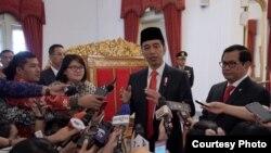 Presiden Joko Widodo di Istana Negara, Jakarta, Selasa 20 Februari 2018. (Foto courtesy: Biro Pers Istana)