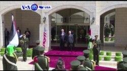 Manchetes Americanas 23 Maio 2017: Donald Trump, Benjamin Netanyahu e Mahmoud Abbas
