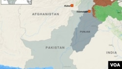 Bản đồ tỉnh Punjab