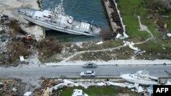 2019年9月5日巴哈马群岛: 多里安在马什港造成的破坏