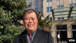 美国华裔前国会议员吴振伟(美国之音黎堡2020年2月28日摄)