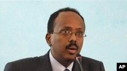 Somali Prime Minister Mohamed Abdullahi Mohamed, 1 Nov. 2010