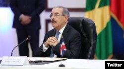 Danilo Medina, presidente de la República Dominicana informó que los representantes del gobierno y la oposición venezolanas acordaron volver a reunirse el lunes 5 de febrero de 2018.