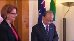 澳大利亞對緬甸放鬆制裁並提供援助