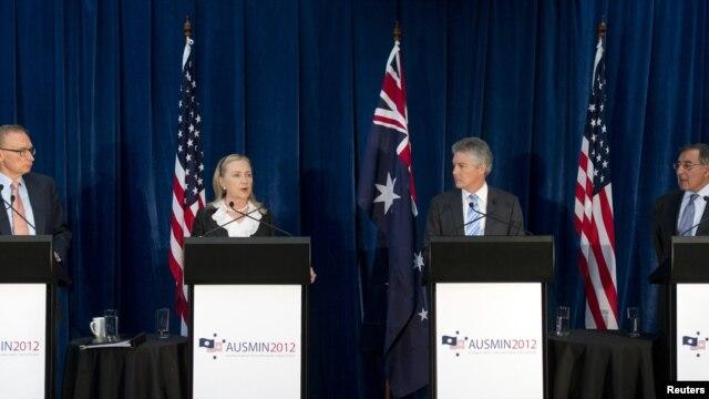Državna sekretarka Hilari Klinton na samitu u Australiji