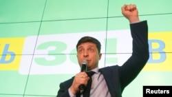 Ukrayna prezidentliyinə namizəd Vladimir Zelenski