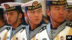 中国海军军人(资料图片)