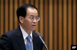 中国驻澳大利亚大使成竞业
