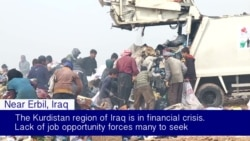 Kurds Search Erbil Landfill for Items to Sell