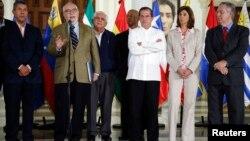 Desde el inicio del diálogo en Venezuela los cancilleres de Colombia, Brasil y Ecuador han fungido como intermediarios.