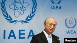 Xalqaro Atom energiyasi agentligi rahbari Yukiya Amano
