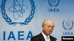 아마노 유키아 국제원자력기구(IAEA) 사무총장. (자료사진)