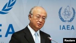 جوہری توانائی کے عالمی ادارے کے سربراہ