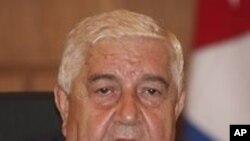 왈리드 모알렘 시리아 외무장관 (자료사진)