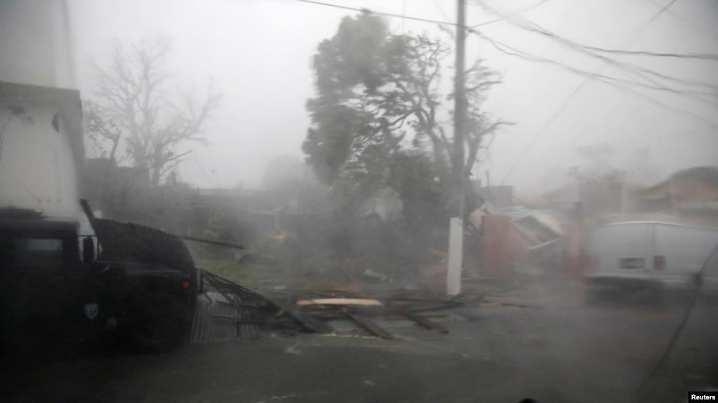 Uragani Maria godet Porto Rikon