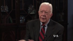 At Age 90, Former President Jimmy Carter is Still Going Strong
