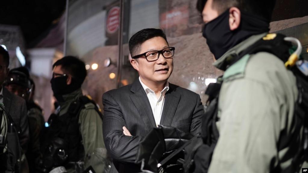 香港示威者平安夜集会 抗争活动或延续到新的一年