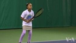 华盛顿非营利组织帮助儿童学习网球