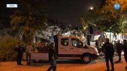 İzmir'de Arama-Kurtarma Çalışmaları Sürüyor