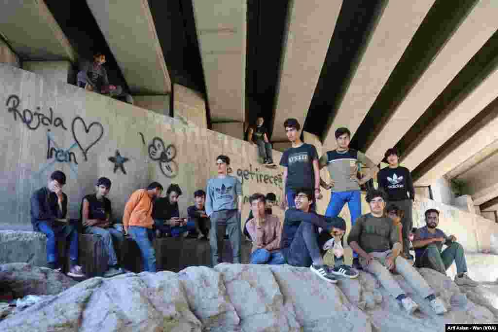 Xortên Penaber yên Afganî li herêma Bedlîsê -Wan-Tirkîye