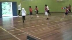 Qadın basketbolçular Səudiyyə Ərəbistanının imicini dəyişir