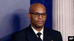 美國衛生總監杰羅姆·亞當斯(US. Surgeon General Jerome Adams )