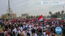 Iraqis Protest US Military Presence