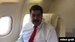 El presidente de Venezuela, Nicolás Maduro, llega a Nueva York, para participar en la 73 Asamblea General de la ONU.
