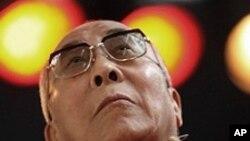 西藏精神领袖达赖喇嘛(资料照片)
