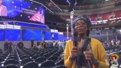 Ana Shirin Fara Babban Taron Jam'iyyar Demokrat Yau A Philadelphia A Nan Amurka
