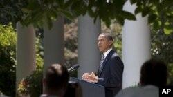 国会两院批准妥协议案后,奥巴马发表谈话
