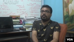 Debottam Saha, a gay man, recalls a time as a child when his father asked him to see a doctor for help.