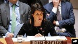 نیکی هیلی نماینده ایالات متحده آمریکا در سازمان ملل متحد - آرشیو